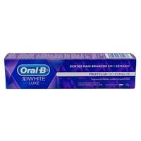 Creme Dental Oral-B 3D White Luxe Proteção do Esmalte