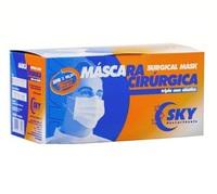 Máscara Cirúrgica Descartável Sky