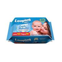Toalha Umedecida Looping Baby