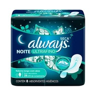 Absorvente Always Ultrafino Noturno