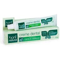 Creme Dental Menta e Melaleuca Boni Brasil
