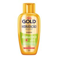 Shampoo Niely Gold Hidratação Milagrosa Água de Coco
