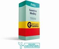 Cloridrato de Memantina Medley 10mg, caixa com 60 comprimidos revestidos