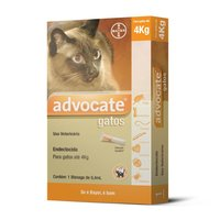 Antipulgas Advocate para Gatos Bayer Pet