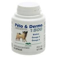 Pêlo & Derme 1500 para Cães e Gatos Uso Veterinário