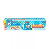 Creme Dental Infantil Oral Gift Galinha Pintadinha Sem Flúor