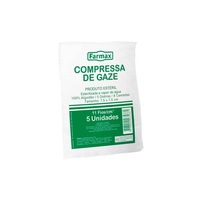 Compressa de Gaze Estéril Farmax