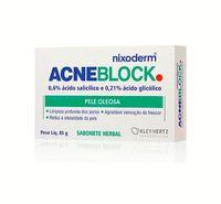 Sabonete Facial Nixoderm Acneblock Pele Oleosa