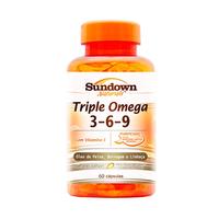 Triple Ômega 3, 6 e 9 Sundown