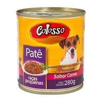 Patê para Cães Colosso Premium Raças Pequenas Sabor Carne
