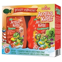 Kit Infantil Acqua Kids Cabelos Lisos e Finos