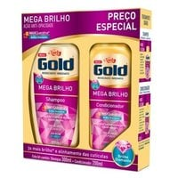 Kit Niely Gold Mega Brilho