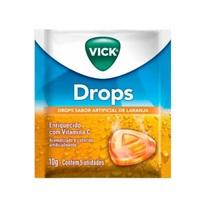 Pastilha Vick Drops