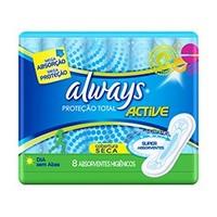 Absorvente Always Proteção Total Active Seca
