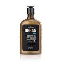 Shampoo 3 em 1 Urban Men Ipa Beer