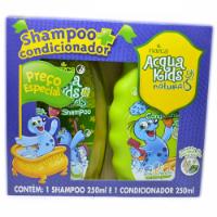 Kit Shampoo e Condicionador Infantil Acqua Kids Erva Doce e Hortelã