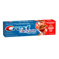 Creme Dental Crest Complete Whitening Plus Cinnamon Expressions