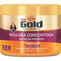 Máscara de Tratamento Concentrada Niely Gold Nutrição Poderosa