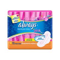 Absorvente Always Pink Proteção Total