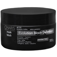 Máscara Capilar Charis Evolution Black Definition