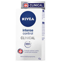 Desodorante Antitranspirante em Barra Nivea Clinical Intense Control