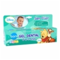 Gel Dental Boni Baby Clássicos Disney
