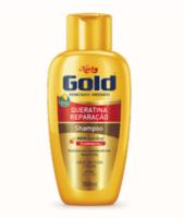 Shampoo Niely Gold Queratina Reparação