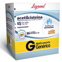 Acetilcisteína Granulado
