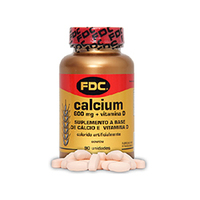 Calcium 600mg + Vitamina D FDC