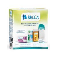 Kit Depilação Bella Sistema Roll-on
