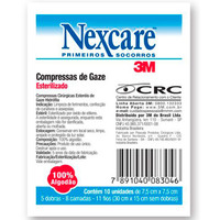 Compressa de Gaze Estéril Nexcare