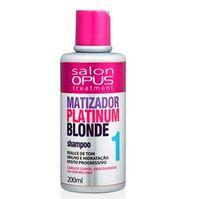 Shampoo Salon Opus Matizador Platinum Blonde 1