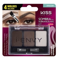 Kit Sombra para Sobrancelhas Kiss New York