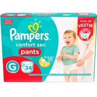 Fralda Pampers Confort Sec Pants