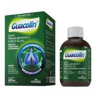 Guacolin 0,0833 mL/mL, caixa com 1 frasco com 120mL de xarope