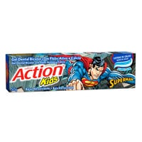 Gel Dental Bicolor Ultra Action Kids Superman