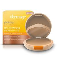 Protetor Solar Facial Compacto Dermage Photoage CC Powder