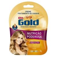 Creme Tratamento de Choque Niely Gold Nutrição Poderosa
