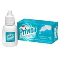 Privina 1mg/mL, caixa com 1 frasco gotejador com 15mL de solução de uso nasal