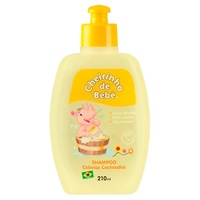 Shampoo Infantil Cheirinho de Bebê Cabelos Cacheados