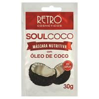 Máscara de Hidratação Retrô Soul Coco