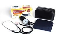 Esfigmomanômetro Aneroide Premium com Estetoscópio