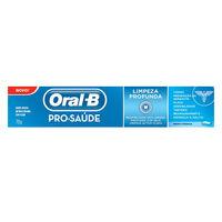 Creme Dental Oral B Pro-Saúde Limpeza Profunda