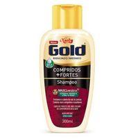Shampoo Niely Gold Compridos + Fortes