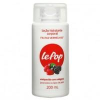 Hidratante Corporal Lepop Frutas Vermelhas