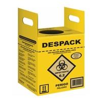 Coletor de Resíduos Perfurocortantes Despack
