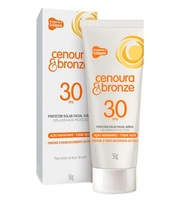 Protetor Solar Facial Cenoura & Bronze
