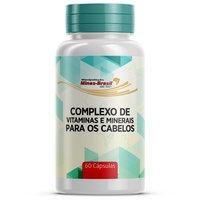 Complexo de Vitaminas e Minerais para Cabelos Minas-Brasil