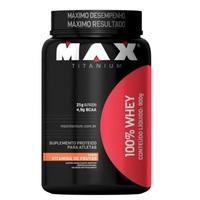 100% Whey Max Titanium