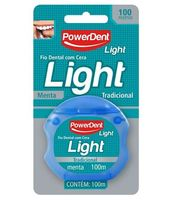 Fio Dental com Cera PowerDent Light
